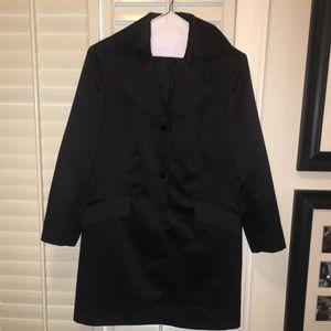 Jackets & Blazers - Women's black dress trench coat
